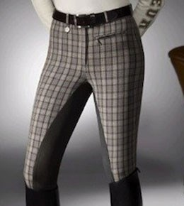 Pikeur Check Breeches
