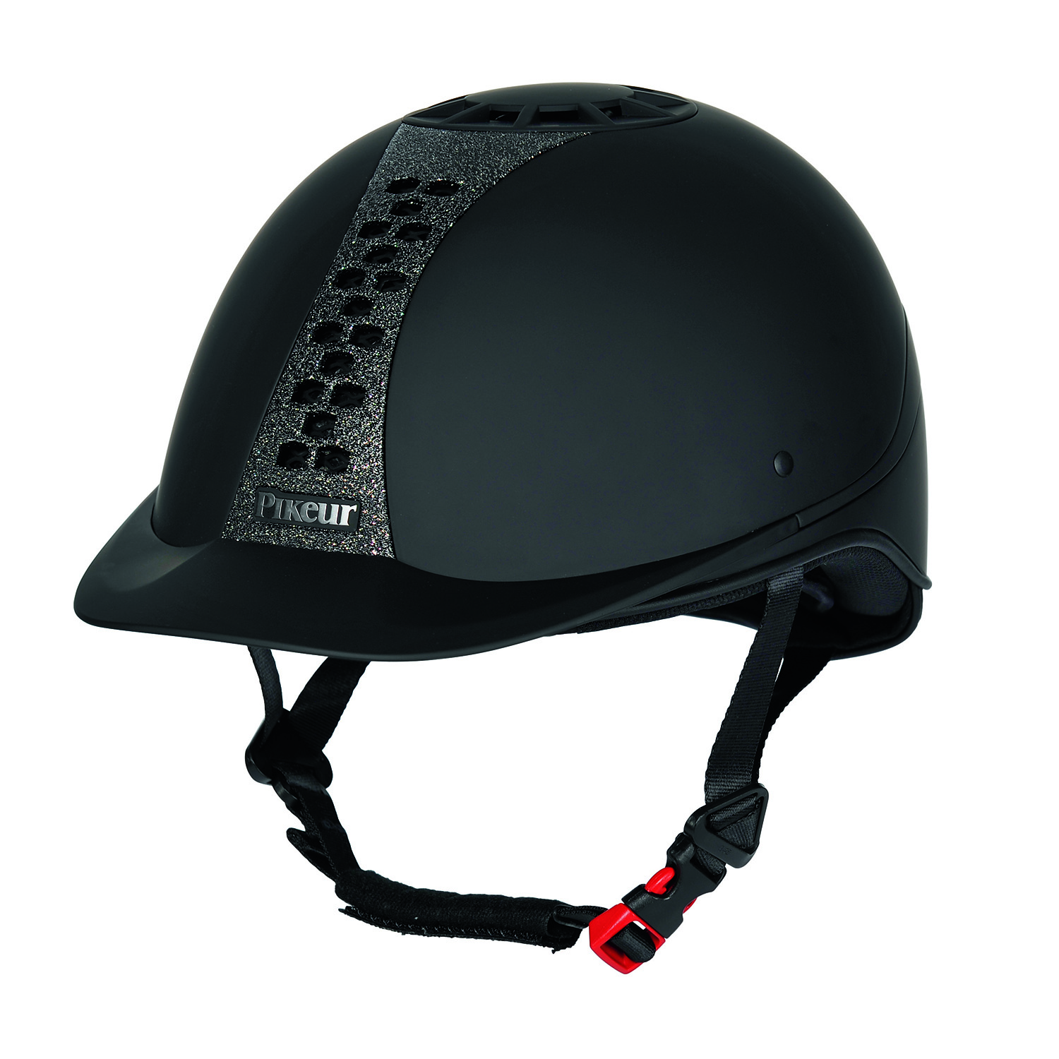 Pikeur Pro-Safe Classic Brilliant Helmet Black
