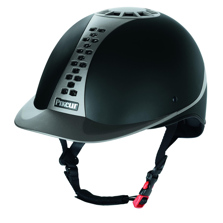 Pikeur Pro-Safe Classic helmet black/grey