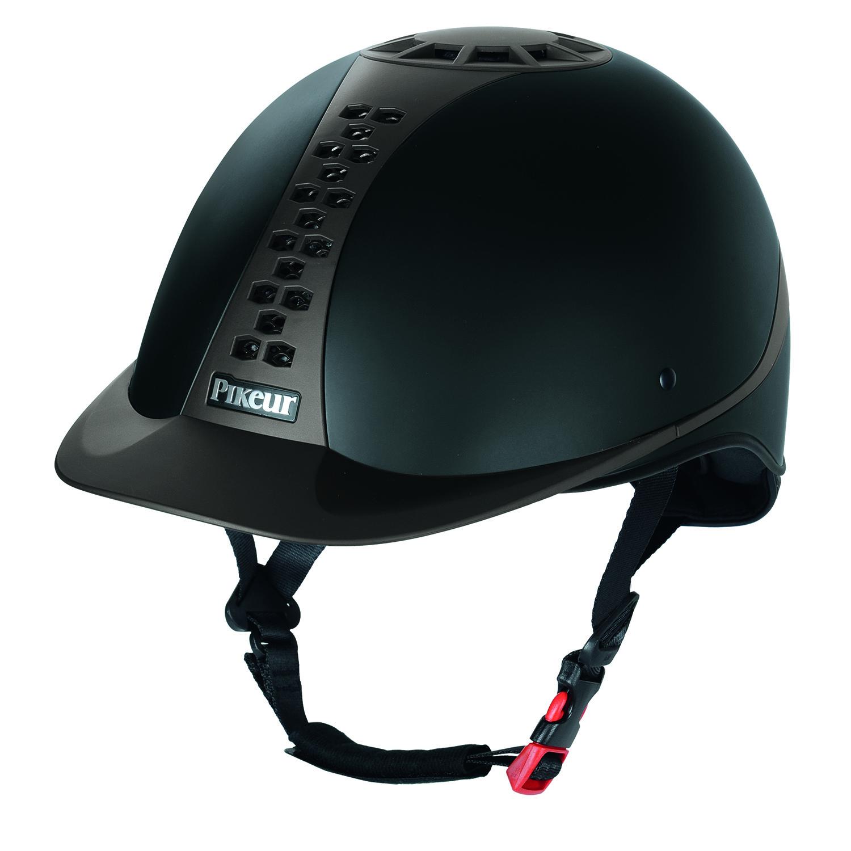 Pikeur Pro-safe Classic Helmet Black/Brown