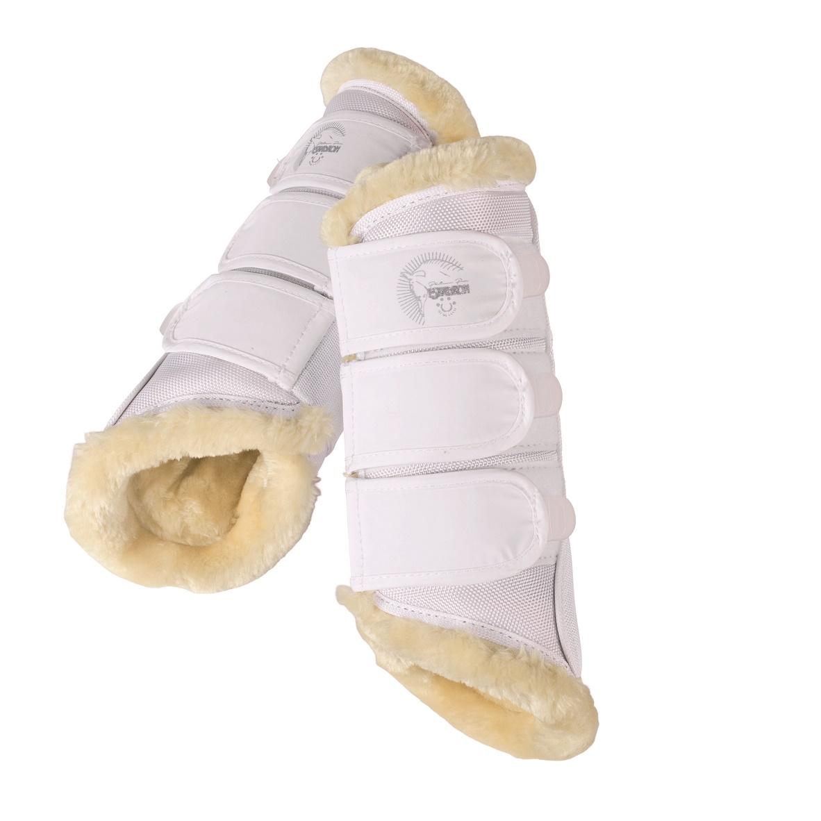 Tendon Boots Faux Fur