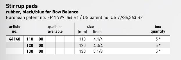 Bow Balance Pads