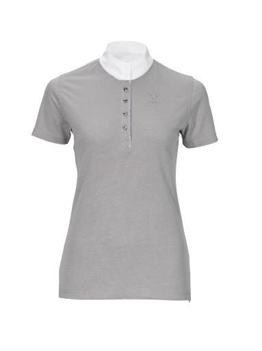Damen Turniershirt 7312 Cloudy Grey