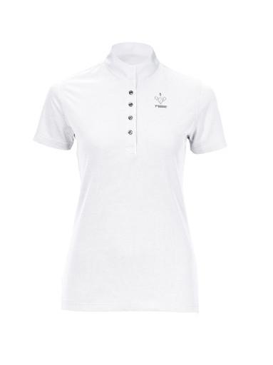 Damen Turniershirt 7312 White