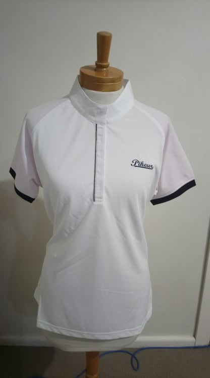 Ladies Competition Shirt White/Pink